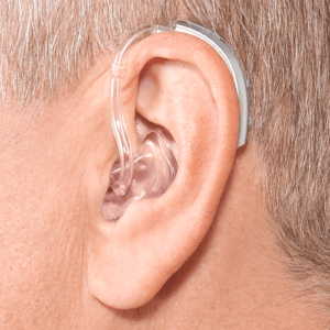 behind-the-ear hearing aids
